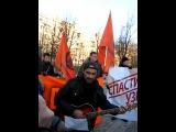 М. Новицкий на акции 10.11.12 в СПб 1